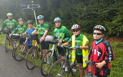 5 jeunes ont relié Berck au Col du Donon